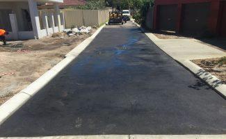laneway construction