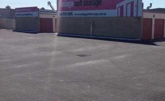 malaga storage car park